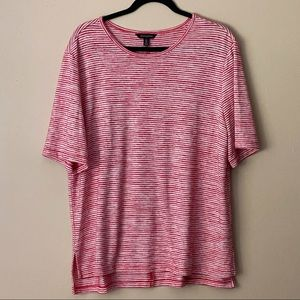 Banana Republic red striped t-shirt